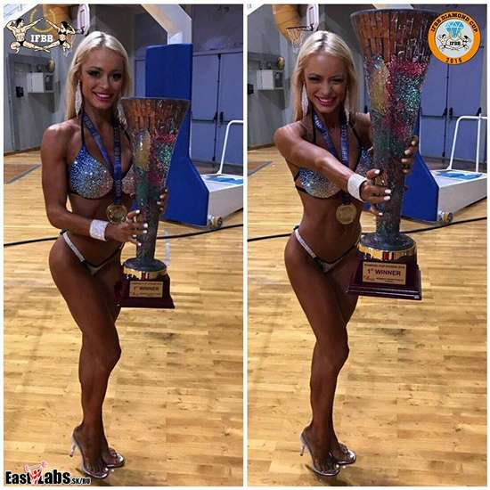 Татьяна Беловинская заняла 3 место на IFBB Diamond Cup Greece